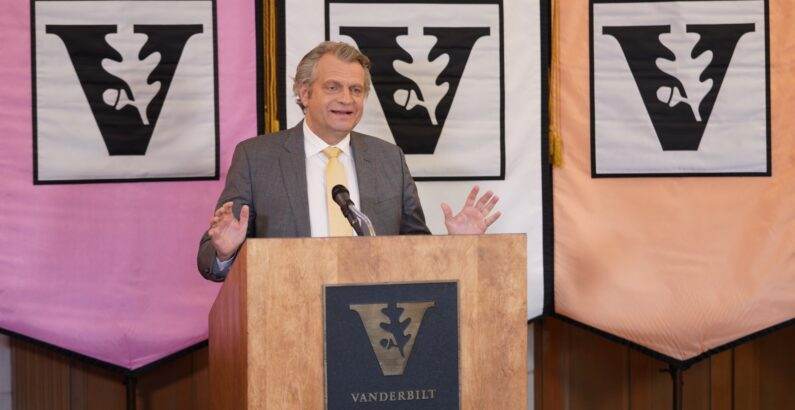 Chancellor says Vanderbilt emerged stronger, ready for the future after year of challenges