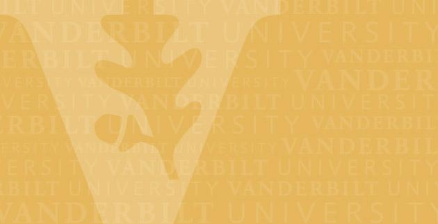 Vanderbilt Logo with Gold Background