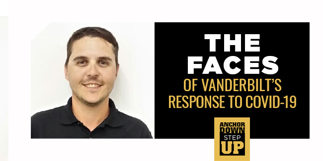 The Faces of Vanderbilt's Response to COVID-19: Ryan Storey
