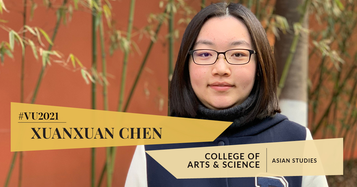Class of 2021: Xuanxuan Chen is completing her senior year virtually—and taking the distance in stride