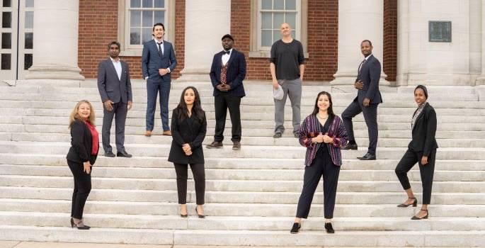 Vanderbilt's Hubert H. Humphrey Fellows arrive in Nashville to complete 10-month professional development program