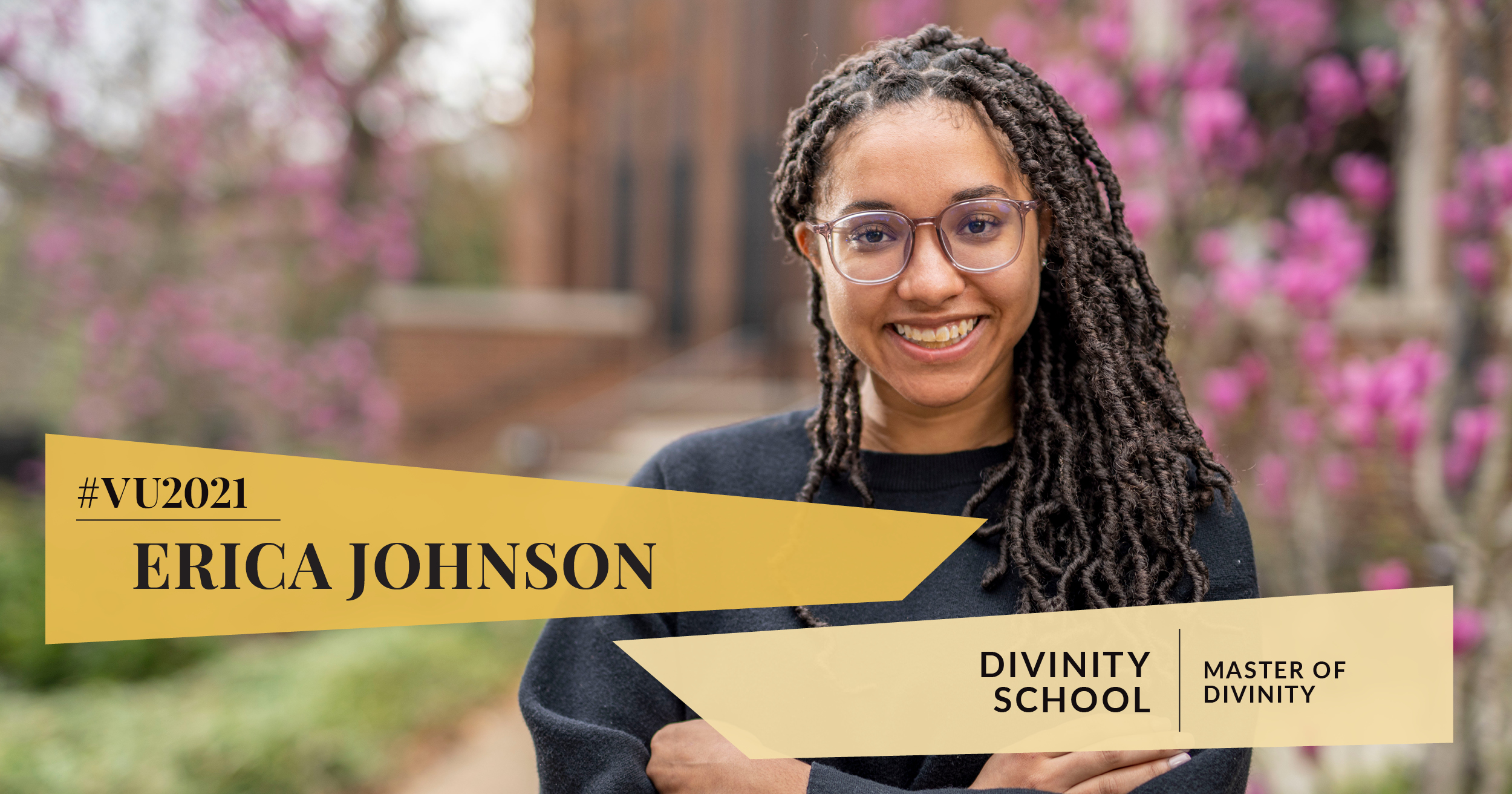 Class of 2021: Divinity student pursues master's work at the junction of theology and social justice