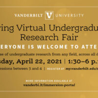 Spring Virtual Undergraduate Research Fair