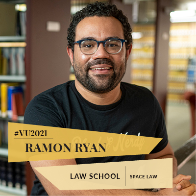 Class of 2021: Law graduate tackles new frontier with space law