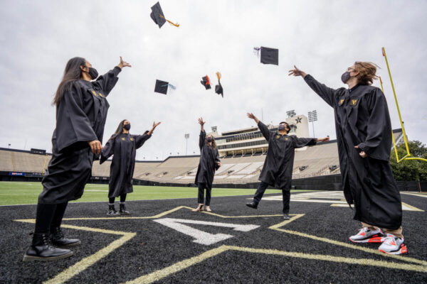Commencement mortar boards