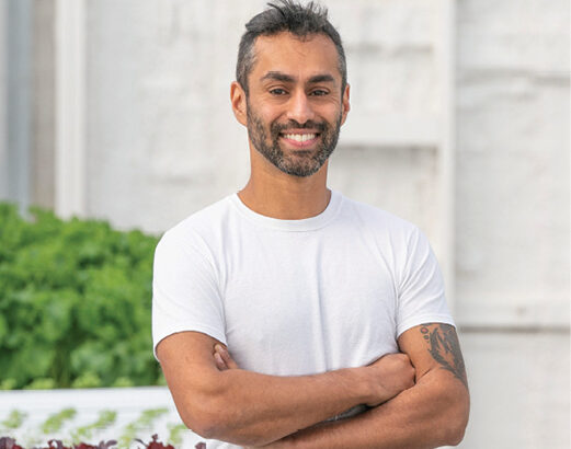 How to be a hydroponic farmer: Expert advice from agricultural entrepreneur Hassan Sharaff, BE'07