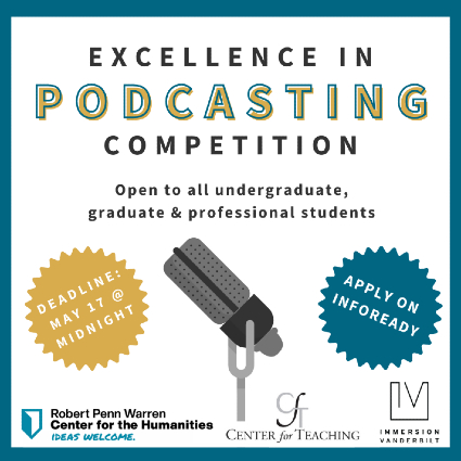 Excellence in Podcasting Competition
