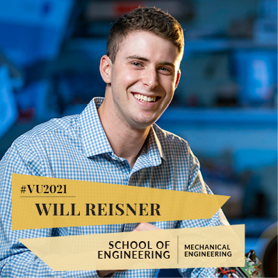 Class of 2021: From rockets to fighter jets, mechanical engineering major builds on big successes
