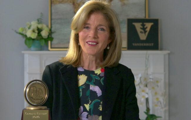 Caroline Kennedy urges Vanderbilt graduates to be 'active citizens,' embrace democratic values in Graduates Day address