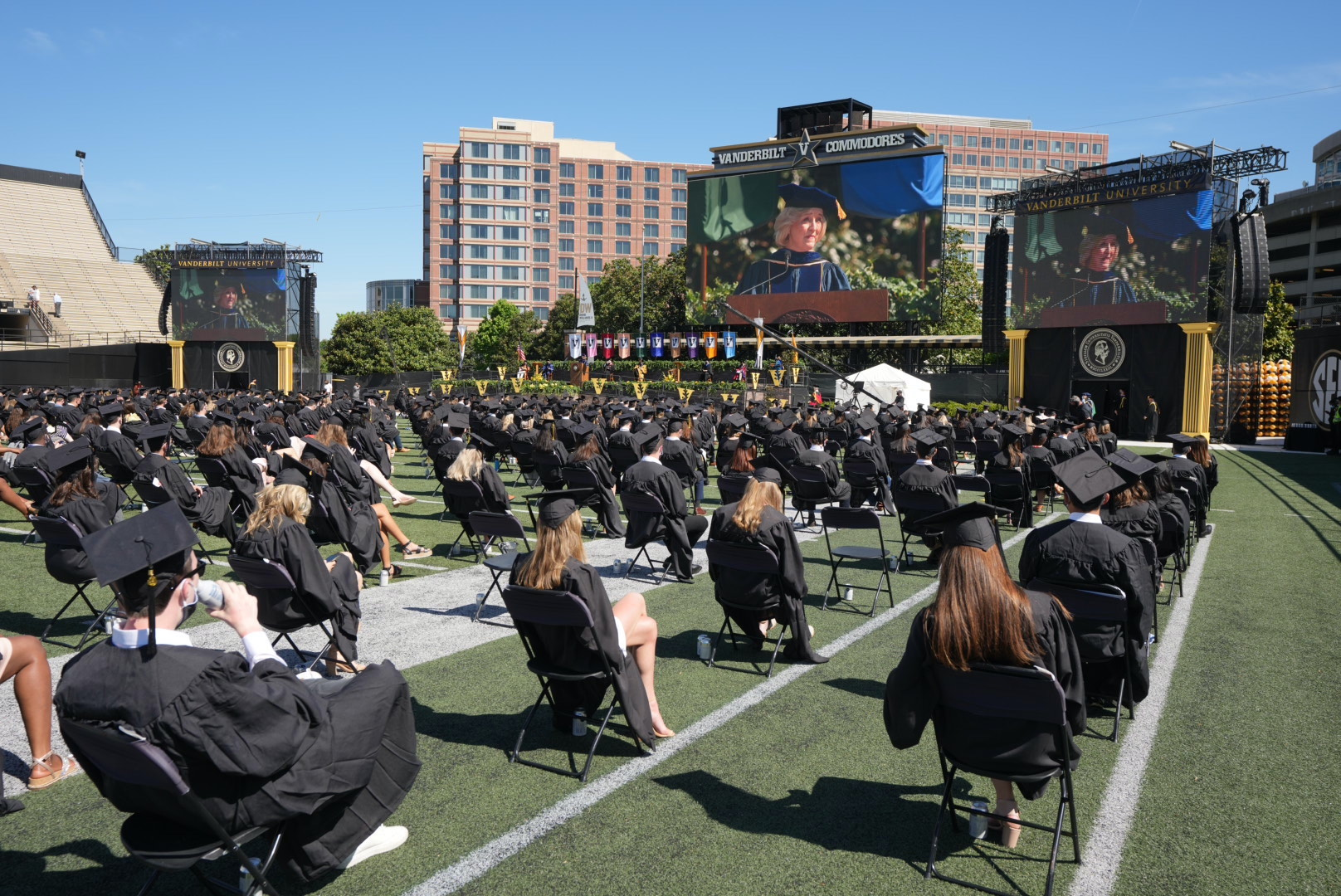 Vanderbilt Provost Susan R. Wente celebrates achievement through adversity with Class of 2020