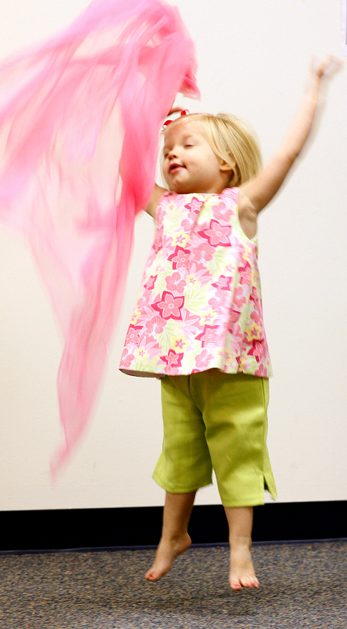 Kindermusik is designed for active, enthusiastic and imaginative children.
