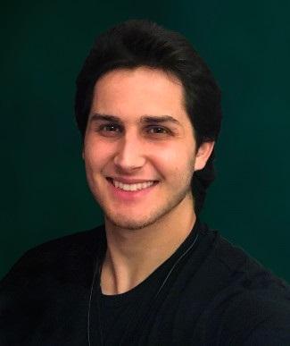 studio photograph of Dominic Cruz Bustillos