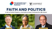 May 25: The Vanderbilt Project on Unity and American Democracy to host book launch and talk on 'Faithful Presence' with author Gov. Bill Haslam