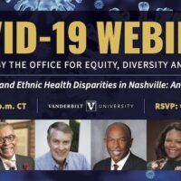COVID-19 Health Disparities Webinar