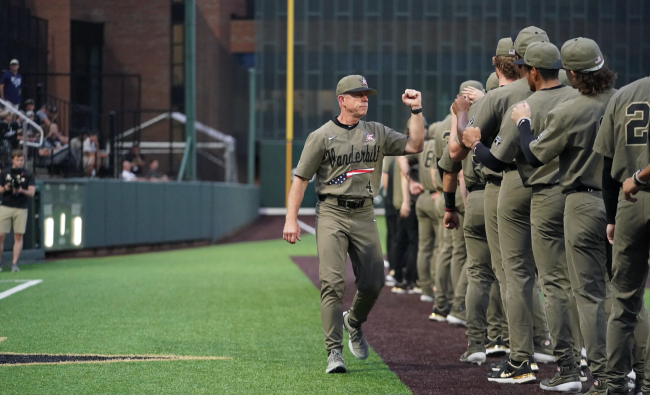 Vanderbilt beat Georgia Tech in 11 innings early Monday morning, June 7, 2021, to advance in the NCAA tournament. The Commodores will next host East Carolina at Hawkins Field in a three-game super regional series.