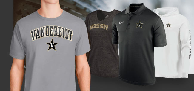 Vanderbilt Athletics taps Fanatics to power new online store; VU employees get 30 percent off for limited time