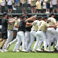 The Commodores beat East Carolina 4-1 on Saturday at Hawkins Field to win their Super Regional and advance to the College World Series. Vanderbilt, national champions in 2014 and 2019, will be one of eight teams playing for a national title starting June 18 in Omaha, Nebraska.