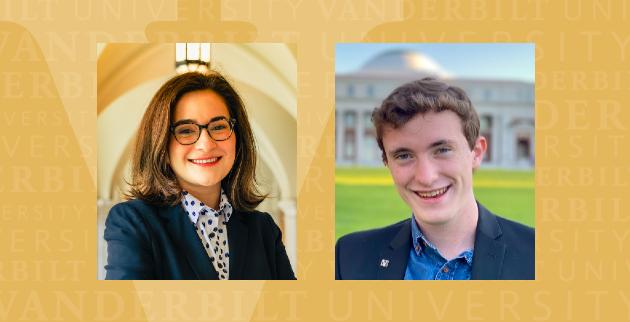 Two Vanderbilt students named 2021 Goldwater Scholars