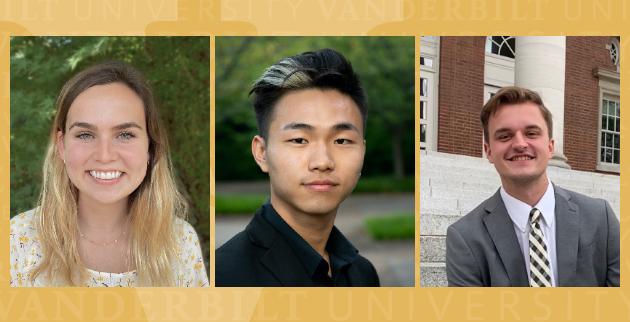 Three receive Keegan Fellowships
