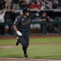 Vanderbilt secured a 7-6 win over Arizona in 12 innings at TD Ameritrade Park in Omaha on Saturday, June 19, 2021.
