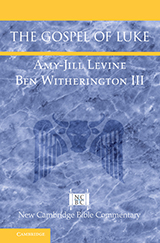 Book cover The Gospel of Luke by Amy-Jill Levine and Ben Witherington III