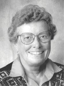 black and white portrait shot of Elizabeth Klepper