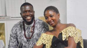 Sainey Darboe and Fatoumatta Touray, his wife (Courtesy S. Darboe)