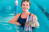 A nationally competitive swimmer in her 60s,  Jan Hildebrandt trains at Superior Athletic Club in Medford, Oregon. (FRIZZSTUDIO.COM)