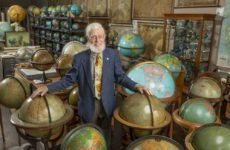 Murray Hudson's chance purchase of 52 maps in England in 1964 led to a lifelong love for collecting and, ultimately, a career in antiques dealing. (Vanderbilt University/John Russell)