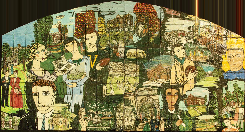 Seasonal Cycles mural by Polly Cook