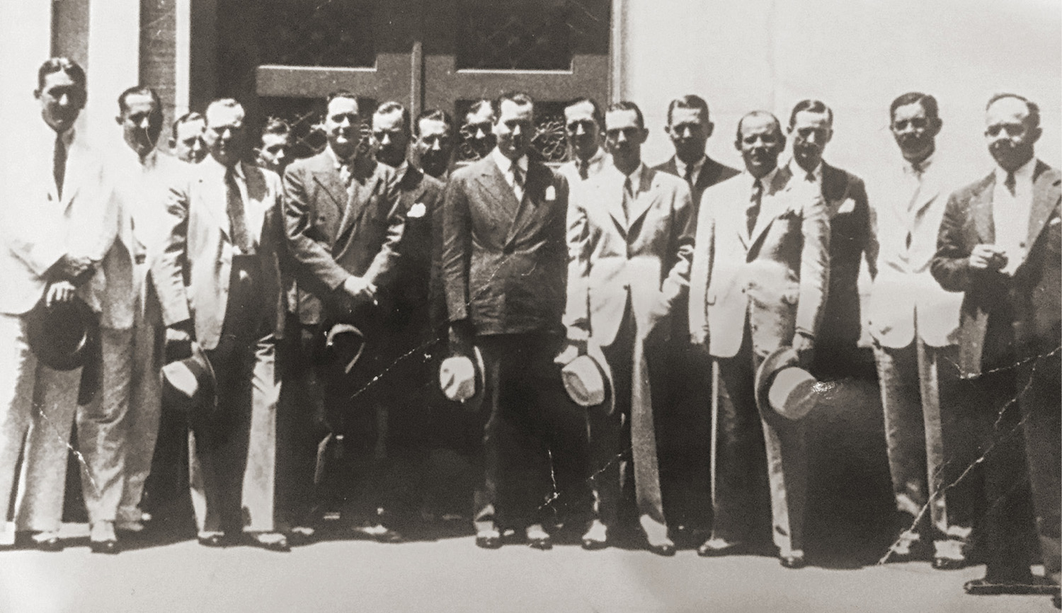 historical photo of members of Equitable Securities Corp.