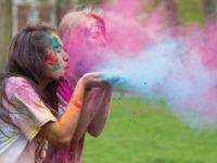 Purple Haze: Students celebrate Holi festival