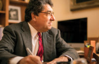 Anchor Man: Nicholas S. Zeppos marks 10 years as Vanderbilt's chancellor