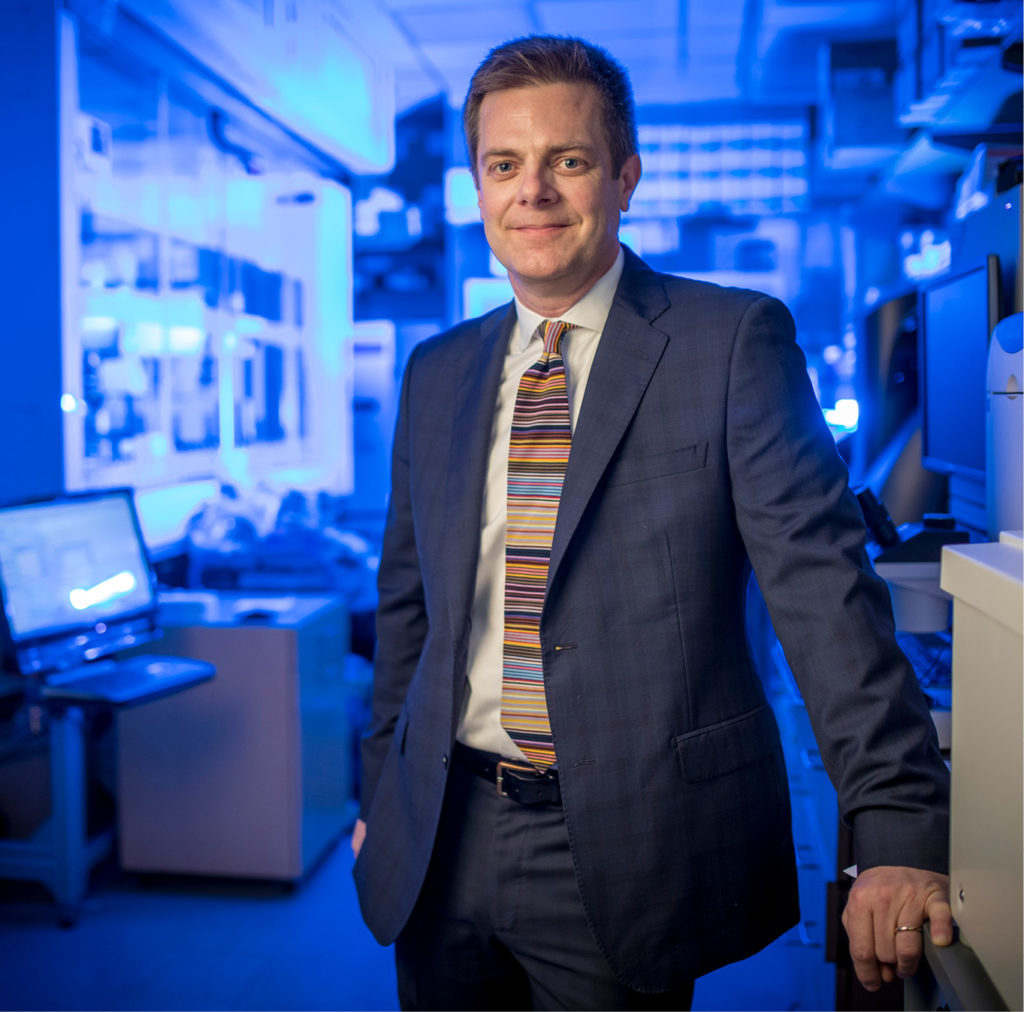 Renowned microbiologist and infectious disease expert Dr. James Crowe is leading research that could pave the way for a universal flu vaccine. (JOHN RUSSELL)