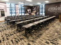 Vanderbilt's new facility  includes office and operations spaces and expansive player practice and workout areas. (JOE HOWELL)