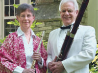 James Berkenstock retired in June after 50 years with the Lyric Opera of Chicago. His wife, Jean, is former principal flutist with the Lyric. (Courtesy Midsummer's Music Festival)