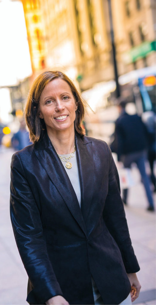 Now that she's CEO of Nasdaq, Friedman—who's also a black belt in taekwondo— is building upon the company's roots as a technology innovator, exploring ways to improve how capital markets function through the products it offers. (DANIEL DUBOIS)