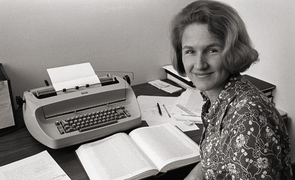 Susan Ford Wiltshire, professor of classical studies, emerita, led a charge at Vanderbilt for women's equity among faculty in the early 1980s. (Vanderbilt University)