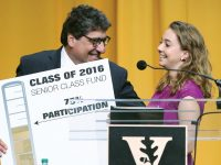 Class of 2016 Sets Record for Senior Class Fund