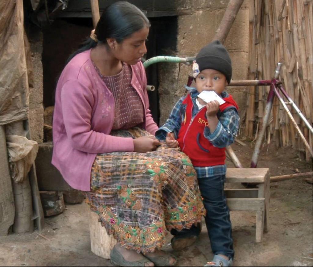 More than half of Guatemalan children experience chronic hunger. (NUTRIPLUS)
