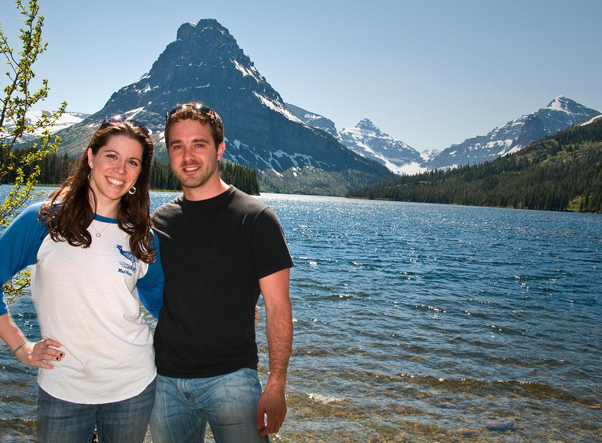 Photo of Mary Katharine Ham and Jake Brewer