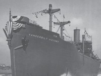 The SS Vanderbilt Victory Was Launched in 1945 with Great Pride