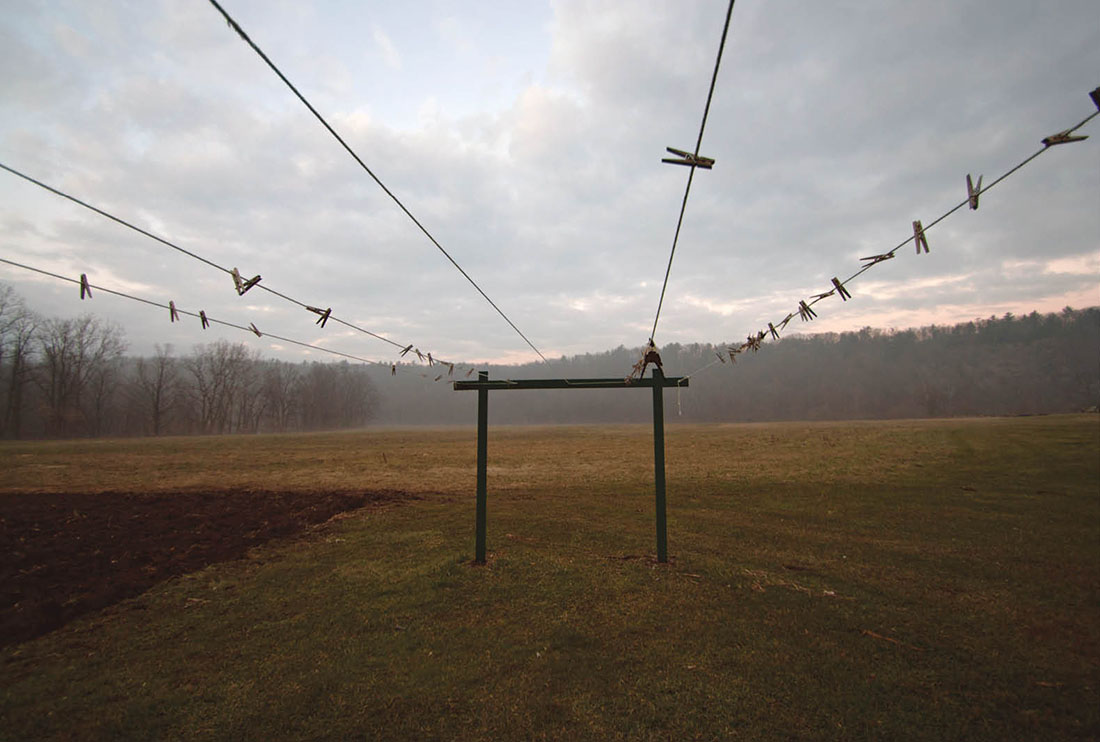 photo of clotheslines