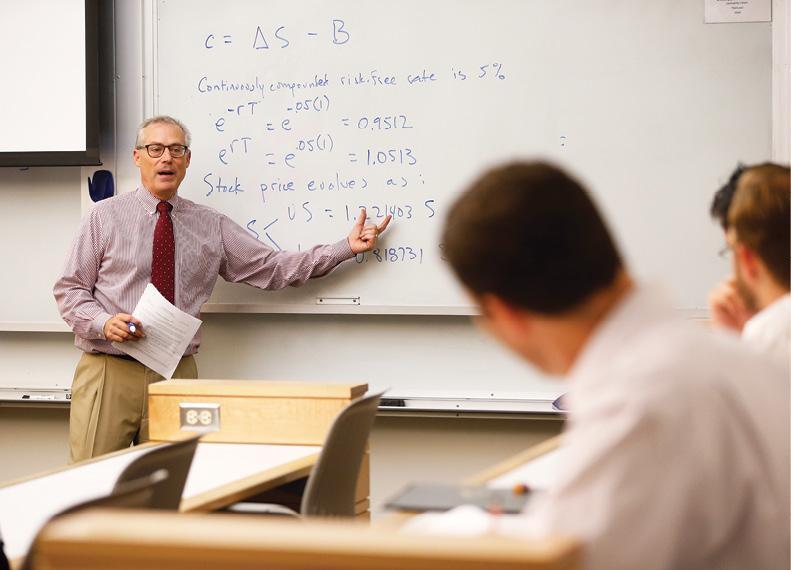 Photo of Craig Lewis teaching