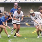 Photo of lacrosse team playing Florida