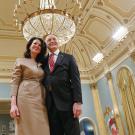 Photo of Bruce and Vicki Heyman