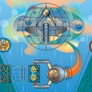 Bioinformatics classroom illustration