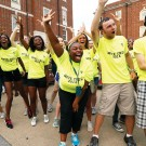 VU Move Crew and VUceptors helped first-year students get settled