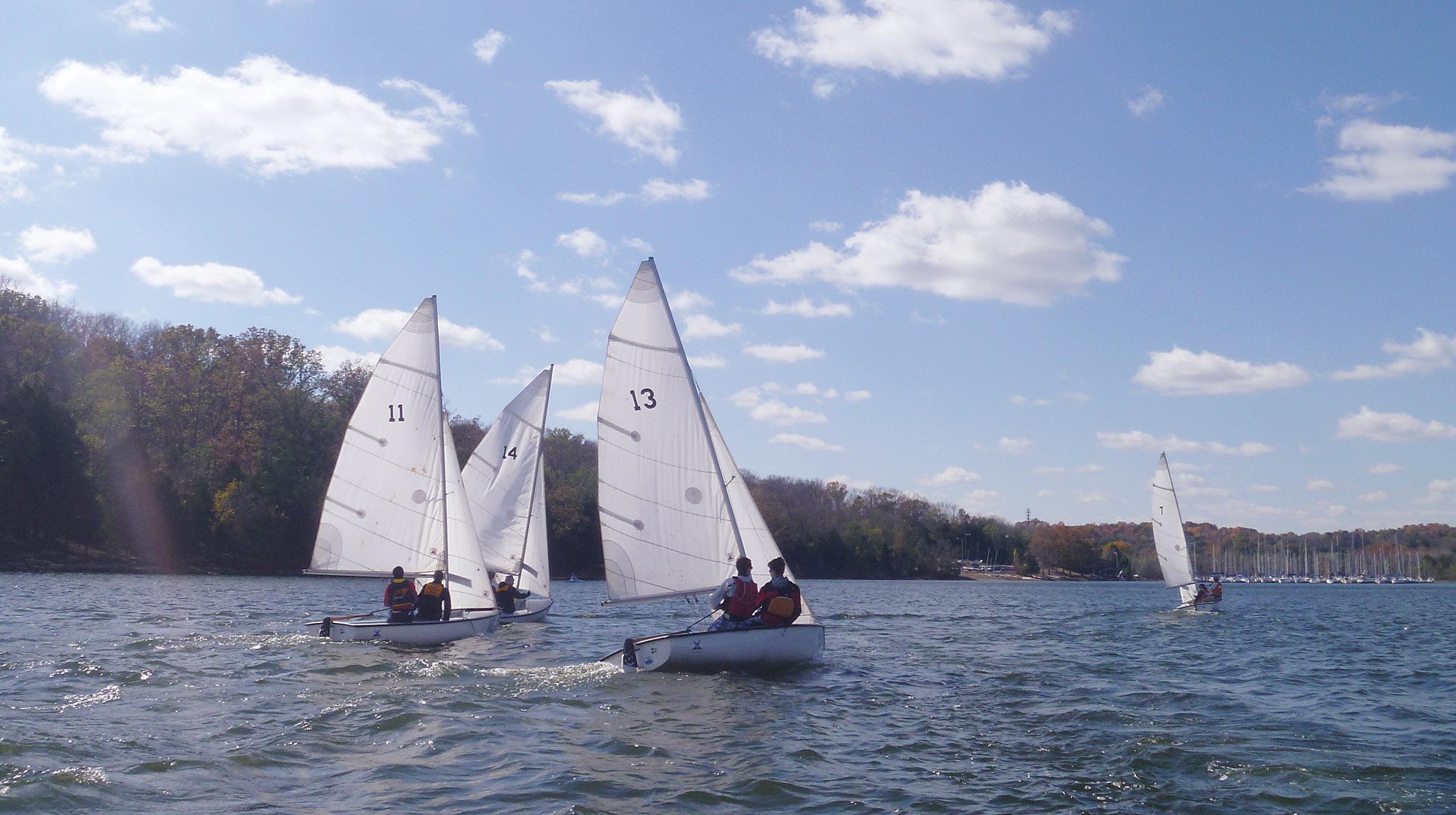 Photo of sailboats