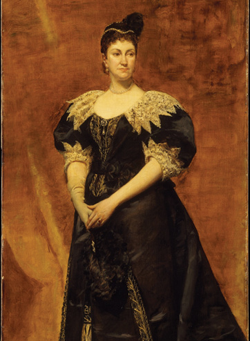 painting of Caroline Schermerhorn Astor